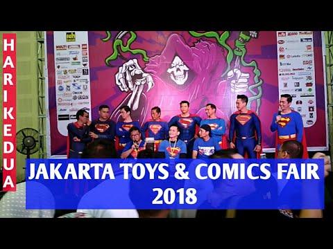 HUNTING DI JAKARTA TOYS & COMICS FAIR 2018 - MAJORETTE, JADATOYS, HOTWHEELS, ACTION FIGURE, LEGO