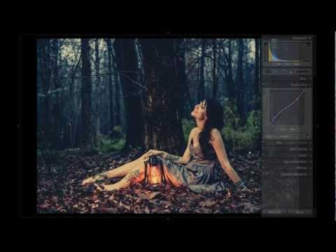 Lightroom Tutorial: Using Tone Curves to Create a Fairy Tale