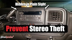 Hidden Stereo / Anti-Theft Device (Stealth Screen) faceplate | AnthonyJ350