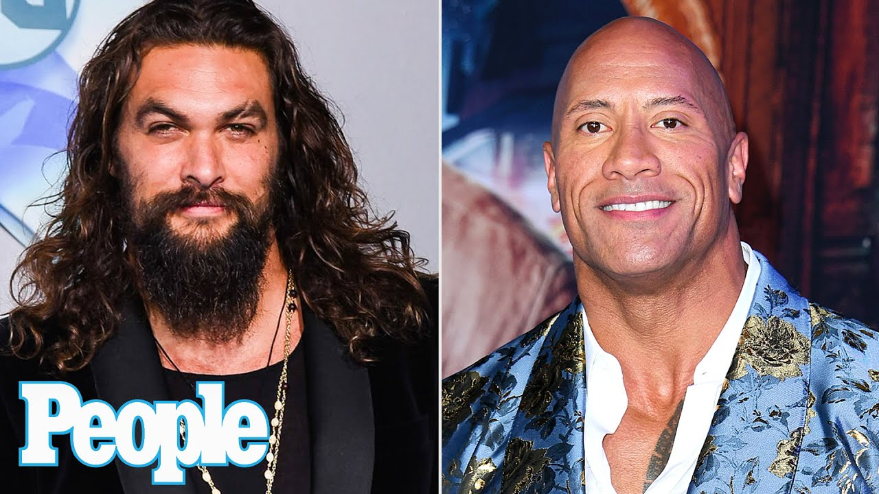 Jason Momoa Says He Wants to Make a Movie with Dwayne Johnson: 'One of These Days'   PEOPLE