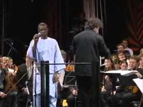 Without a Smile - Youssou n'dour et orchestre symphonique universitaire de Grenoble