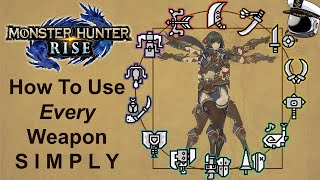 How To Use Every Weapon in 1 Minute or Less Each (Timestamps in Description) - Monster Hunter Rise
