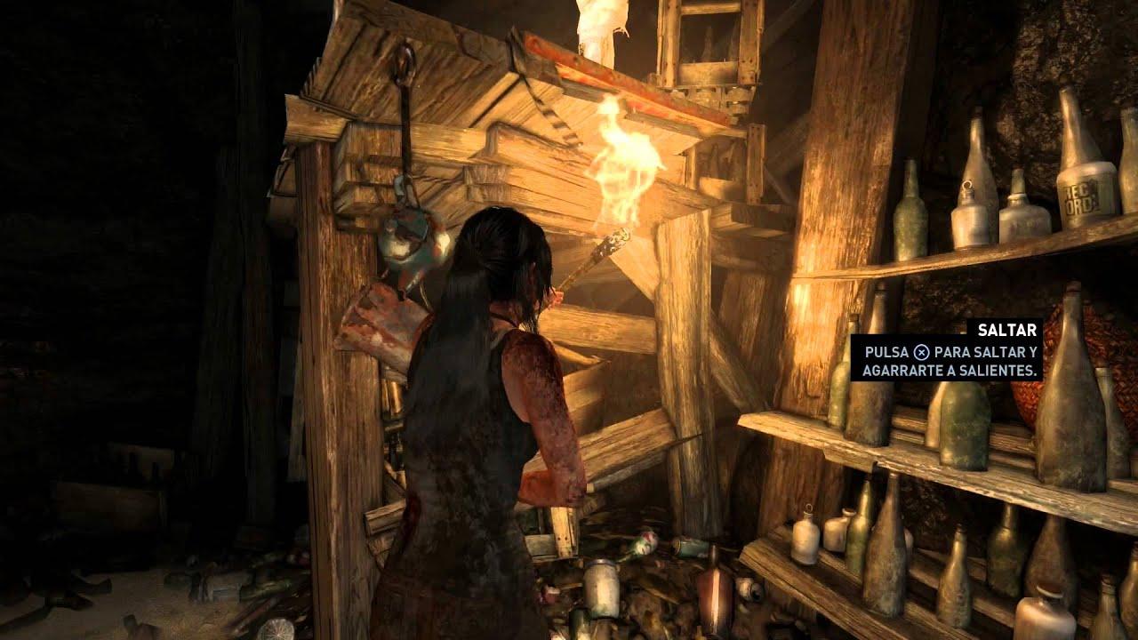 Tomb Raider Definite Edition Gameplay Ps4 1080p Youtube