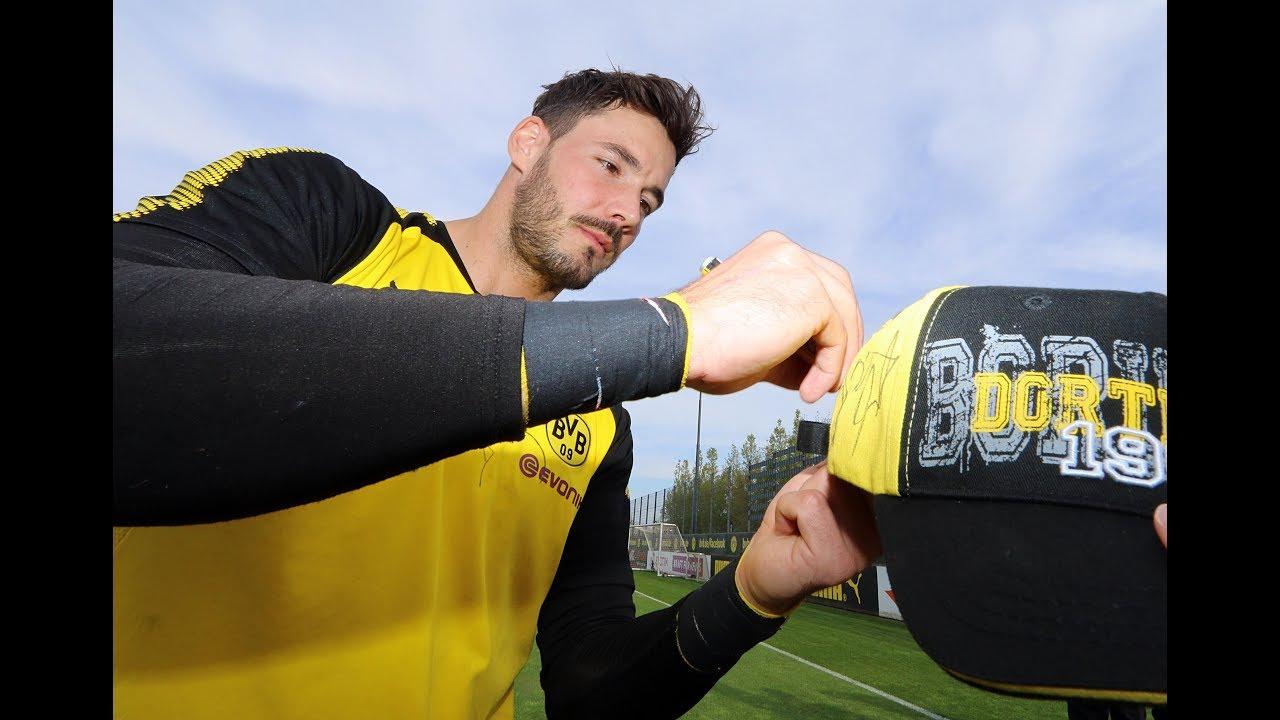 Öffentliches BVB-Training in Brackel am 17. April