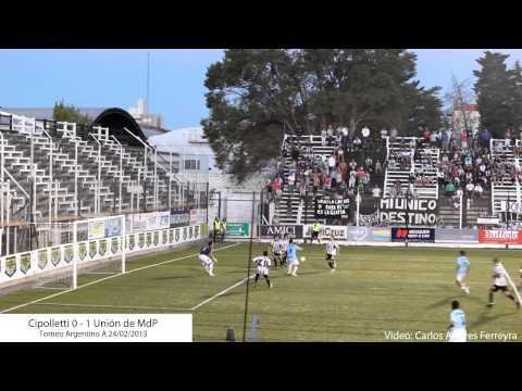 Cipolletti 0 - Unión (Mar del Plata) 1