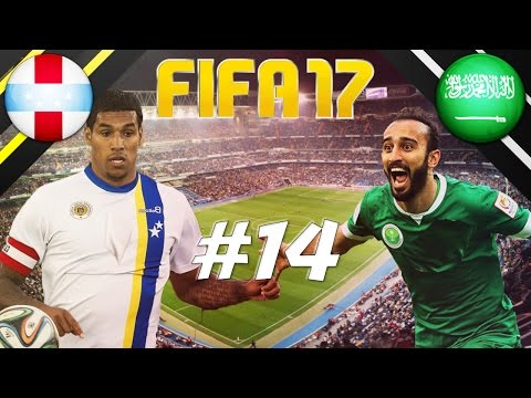 FIFA 17 - INTERNATIONAL ROULETTE #14 - NETHERLANDS ANTILLES (CURAÇO) VS SAUDI ARABIA