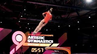 Maria Paseka (RUS) VT - 2019 World Championships - Podium Training