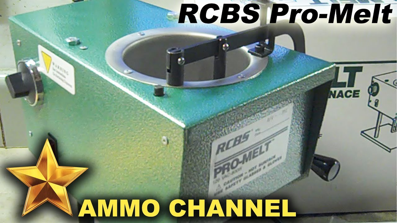 Welcome to the RCBS Pro-Melt lead casting pot - Bullet casting and  reloading tools