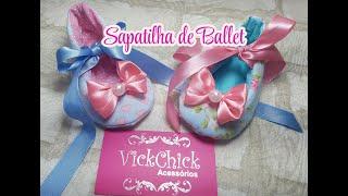 Aprenda a Fazer Sapatilha de Ballet