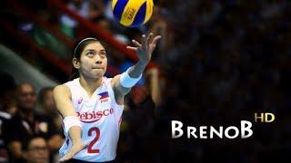 TOP 10 Best Actions by Alyssa Valdez | THE PHENOM | Volleyball Wing Spiker ● BrenoB ᴴᴰ