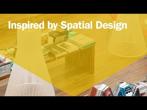 Inspired By Spatial Design – Award Winning Spatial and Experiential Design