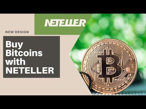 How To Buy Bitcoins Tutorial 2020 Using Neteller Wallet