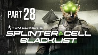Splinter Cell Blacklist Gameplay Walkthrough Part 28 - Sabotage Bunker Systems
