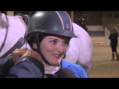 Showjumping -  Yasmin Davis Winning Grand Prix Run - Bury Farm