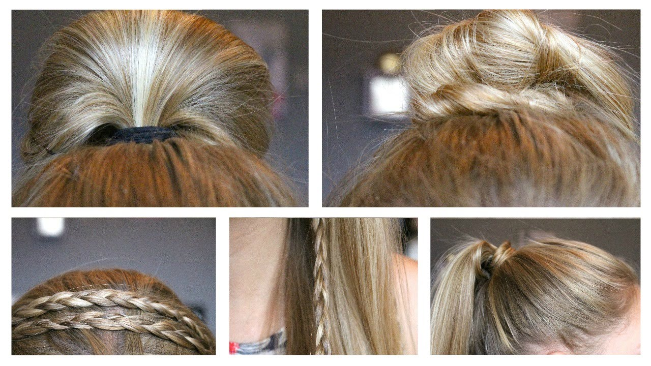 6 quick & easy back to school hairstyles for summer 2016