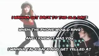Demi Lovato - Get Back (Karaoke Instrumental)