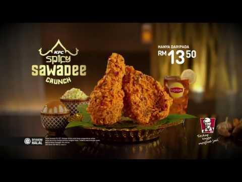 KFC Spicy Sawadee Crunch - Sedapnya Seperti Di Thai