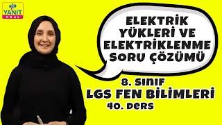 Elektrik Yükleri ve Elektriklenme Soru Çözümleri | 2021 LGS Fen Bilimleri Konu Anlatımları