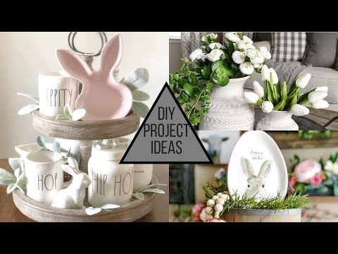 2019 DIY Farmhouse Project Ideas for Easter & Spring