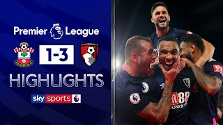 Wilson scores late after defensive howler! | Southampton 1-3 Bournemouth | Premier League Highlights