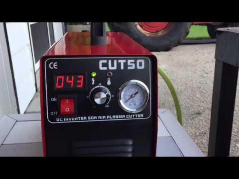 ✔️C.E CUT50 Pilot Arc Plasma Cutter