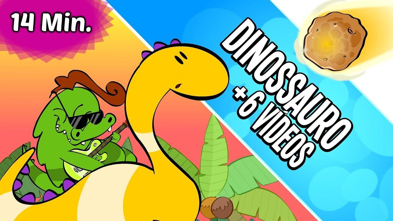 Desenho Infantil Dinossauro 6 Musicas Infantis Animadas Youtube