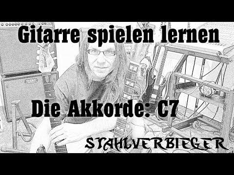 Gitarre spielen lernen - die Akkorde: C7