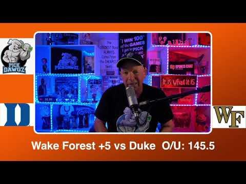 Wake Forest vs Duke 2/17/21 Free College Basketball Pick and Prediction CBB Betting Tips