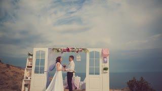 Свадьба в Крыму, лавандовая выездная церемония у моря