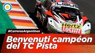 Benvenuti se consagró campéon del TC Pista - #CarrerasArgentinas