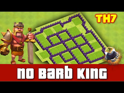 Clash Of Clans Best Town Hall 7 Farming Base Ultra Protective