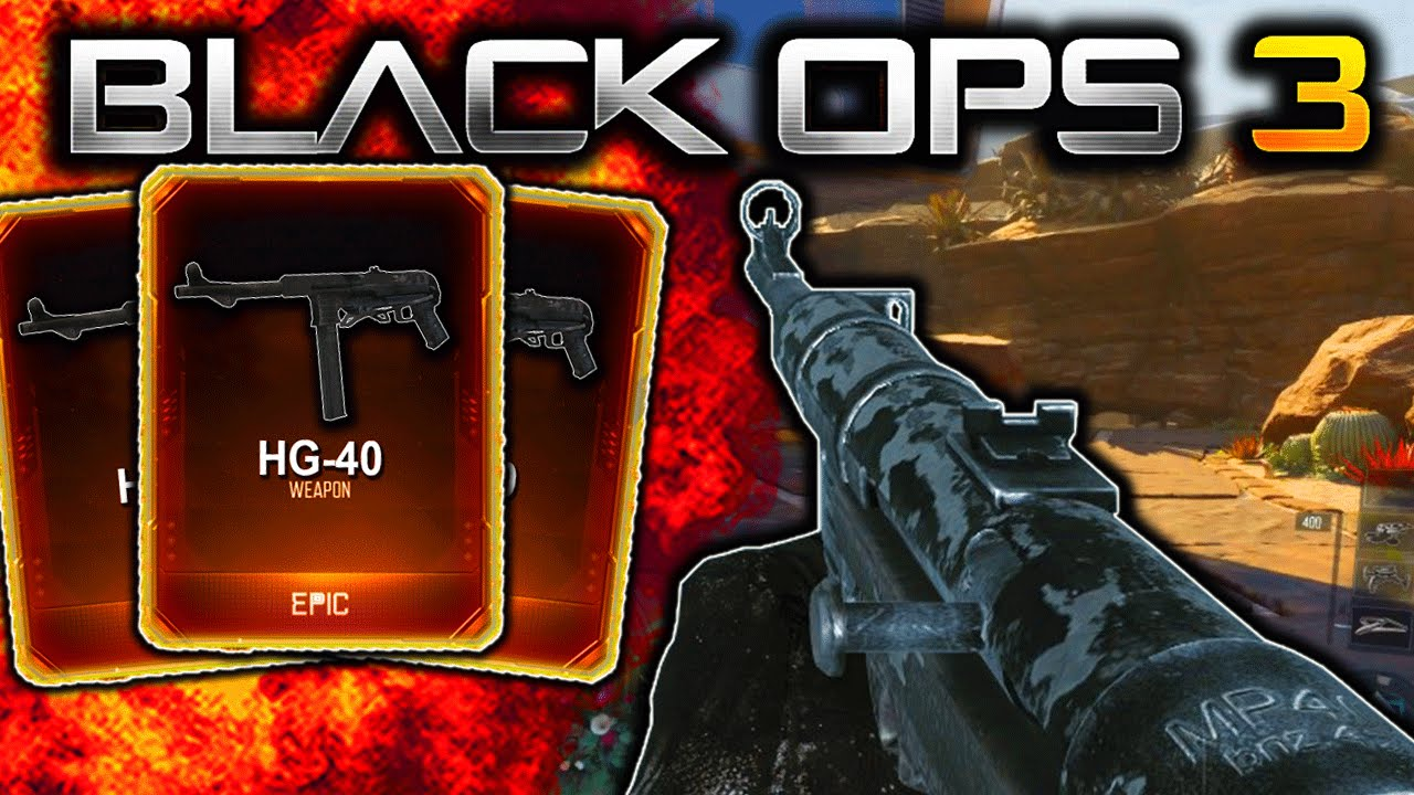 how to get mp40 black ops 3