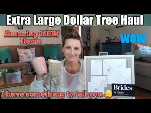 Extra LARGE Dollar Tree Haul❤NEW Items* April 18, 2018*Bonus footage 🧡