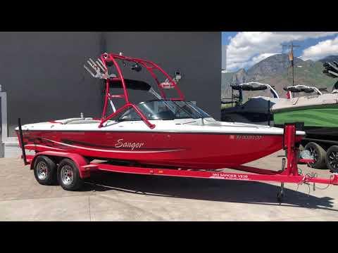 2003 Sanger V210 Wakeboard And Wakesurf Boat For Sale