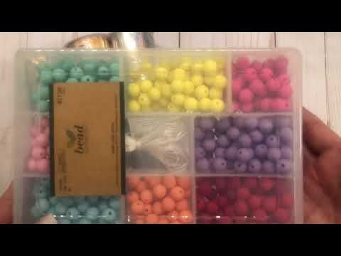 New cool Hobby Lobby faux leather and bead haul!