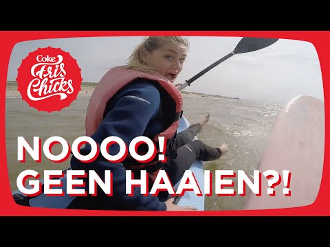 #49 Kajakken & golfsurfen met haaien en afgebeten nagels - FrisChicks