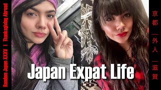 Expat in Japan | Thanksgiving in Japan and More! | Random Japan Vlog XXXV