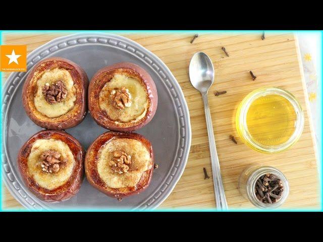 ★ Печеные яблоки с чизкейком от Мармеладной Лисицы ★ Это очень вкусно! ★