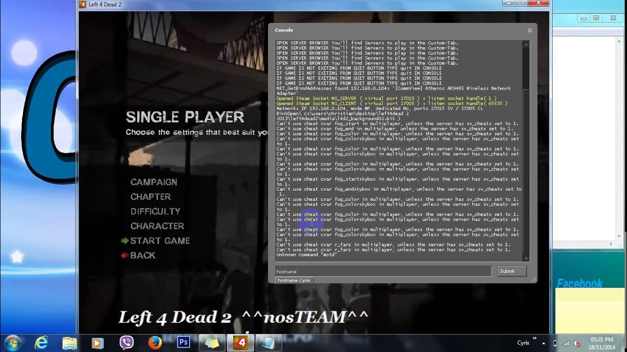 Can We PLay Left 4 Dead 2 Local Co op | Tom's Hardware Forum