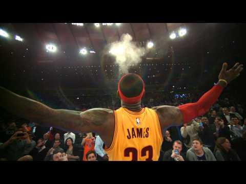 Phantom: LeBron James' Chalk Toss In 1000 Fps At Madison Square Garden