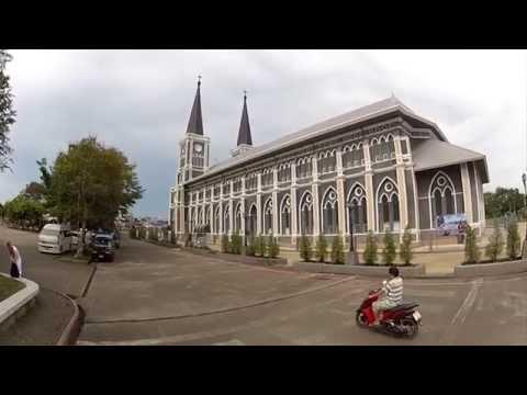 Catholic Cathedral in Chanthaburi, Thailand