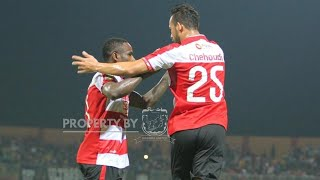 Cuplikan Gol Madura United vs Hougang United (2-0)