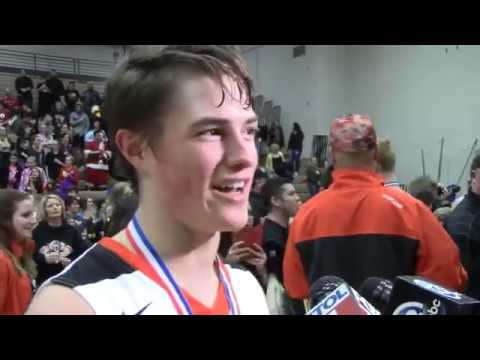 North Baltimore coach, players talk about district title win