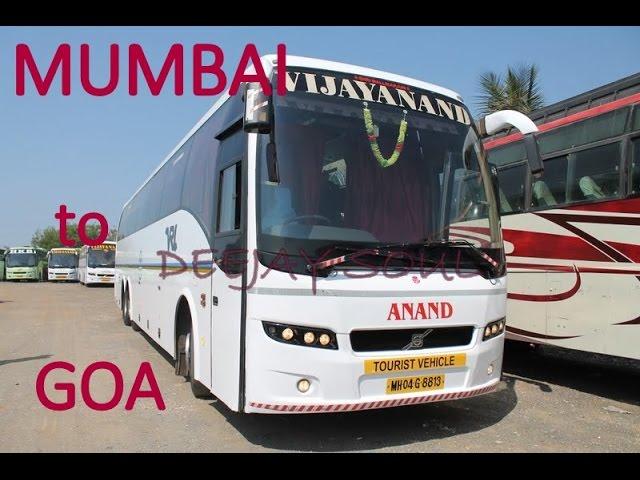 Vrl Volvo B9r Overtaking Laxmi Travels At Kashedi Ghat On Nh