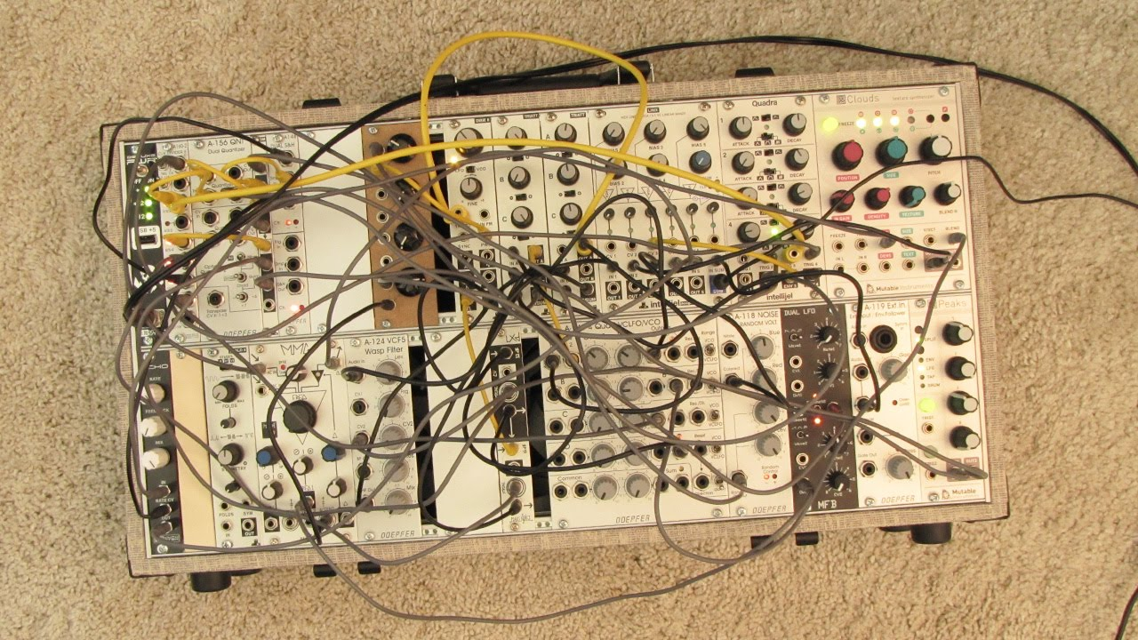 live jam 40 ambient drone electro eurorack modular synthesizer youtube. Black Bedroom Furniture Sets. Home Design Ideas