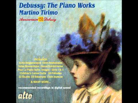 Martino Tirimo: Clair de lune (from Suite bergamasque, by Claude Debussy)