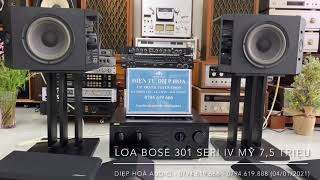 💯 Bose 301 seri 4 dòng loa Mỹ karaoke gia đình gửi vị khách tại Hà Nội (04/01/2021) 🌟