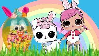 LOL Surprise Pets  Wielkanocne jajeczka z konfetti  My Little Pony Cutie