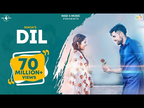 DIL || NINJA || Valentines Special || New Punjabi Songs 2016 || FULL HD || AMAR AUDIO