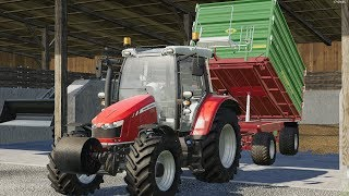 Dreschen mit Fendt 515, Case Maxxum 135, MF 5600,new holland 8430